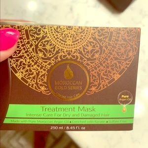 NIB Moroccan gold Argan Oil Treatment Mask